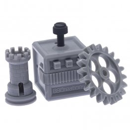 B9Creations Gray Rapid Prototyping 3D Printing Resin