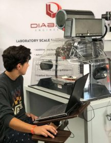 Diabase Engineering 3 axis H-Series Hybrid 3D Printer and CNC Mill