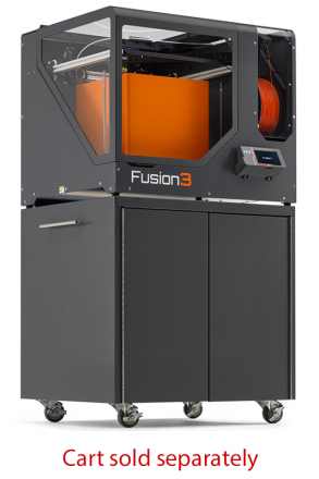 Fusion3 F410 with cart. Cart sold separately