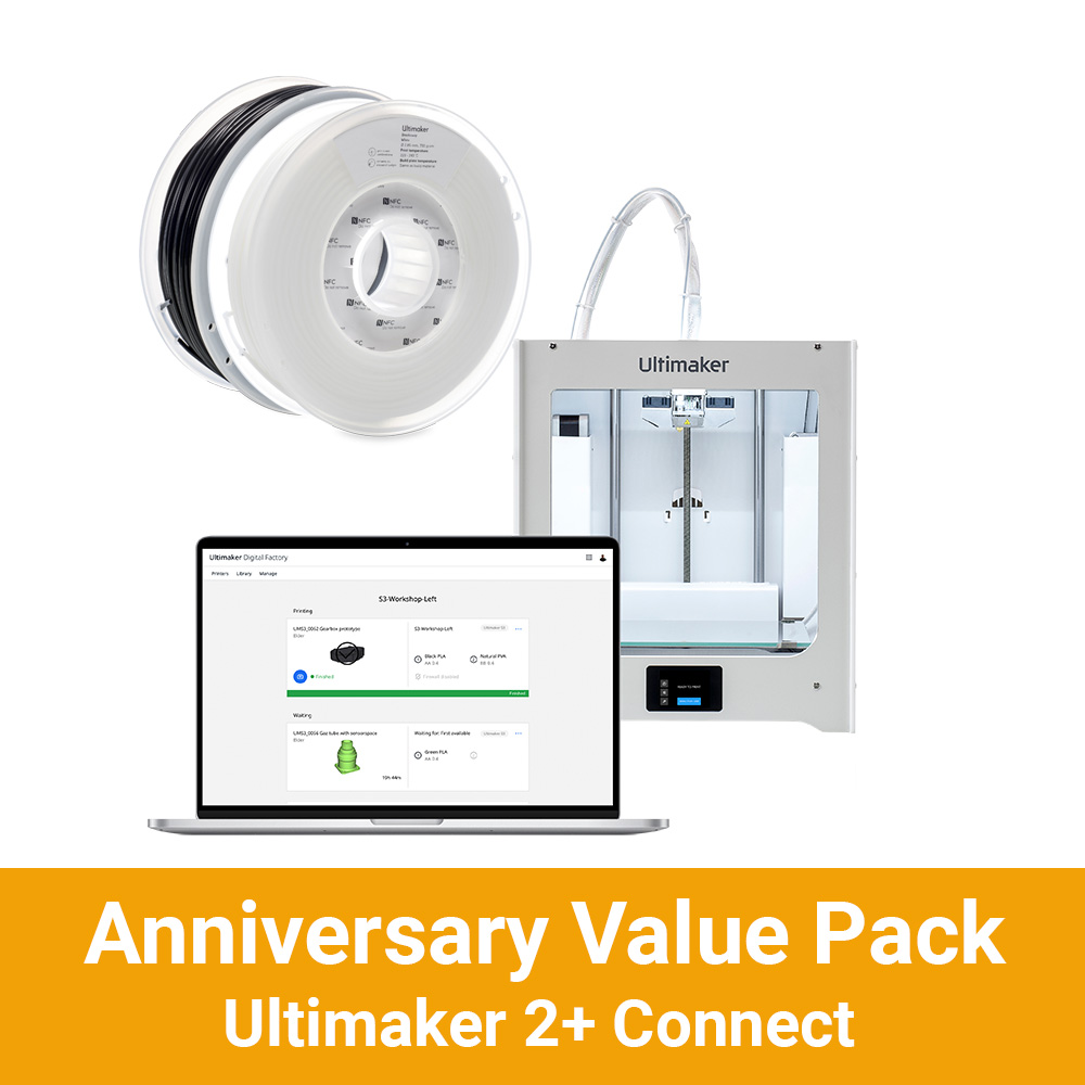 Anniversary Ultimaker 2+ Connect Value Pack